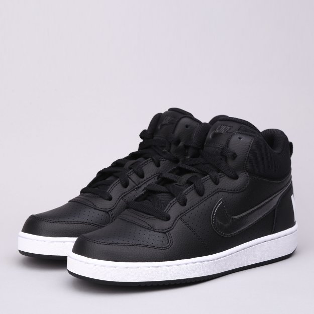 Кеды Nike Girls' Court Borough Mid (Gs) Shoe - MEGASPORT