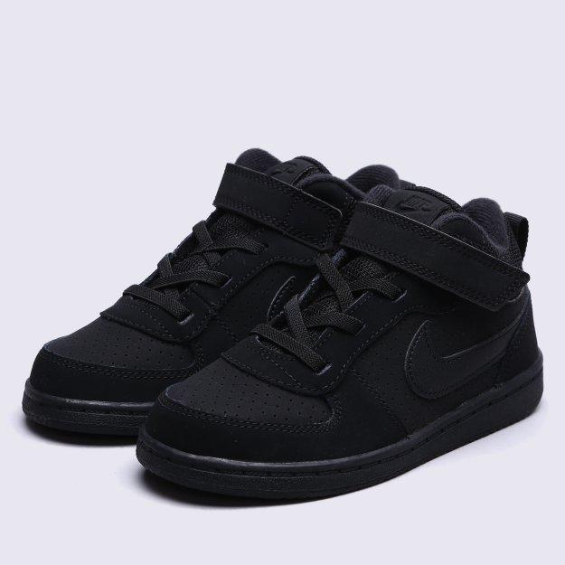 Кроссовки Nike Boys' Court Borough Mid (Td) Toddler Shoe - 112754, фото 1 - интернет-магазин MEGASPORT