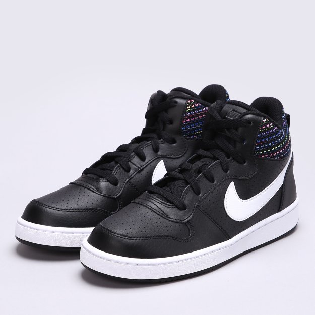 Кеды Nike Court Borough Mid Se (Gs) - MEGASPORT