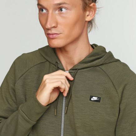 Кофта Nike M Nsw Optic Hoodie Fz - 112856, фото 4 - інтернет-магазин MEGASPORT