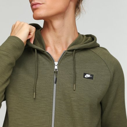 Кофта Nike M Nsw Optic Hoodie Fz - 112856, фото 5 - інтернет-магазин MEGASPORT