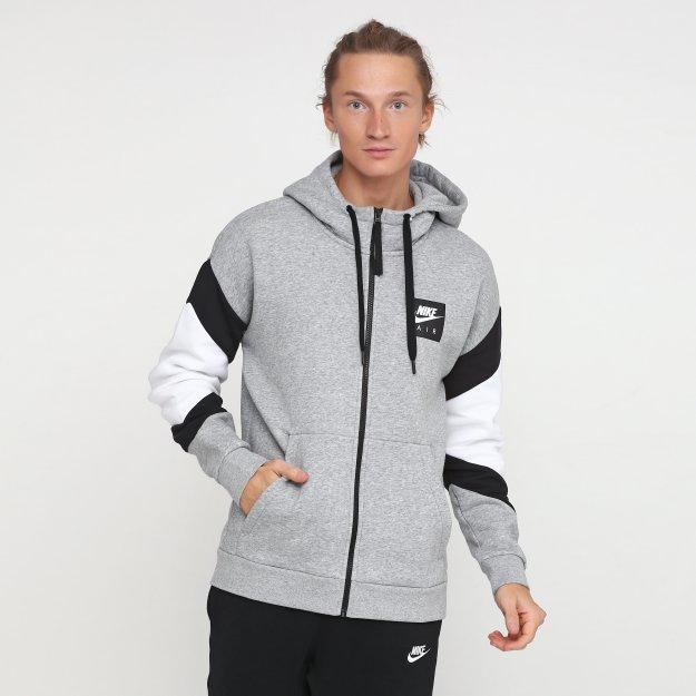 Кофта Nike M Nsw Air Hoodie Fz Flc - 112862, фото 1 - інтернет-магазин MEGASPORT