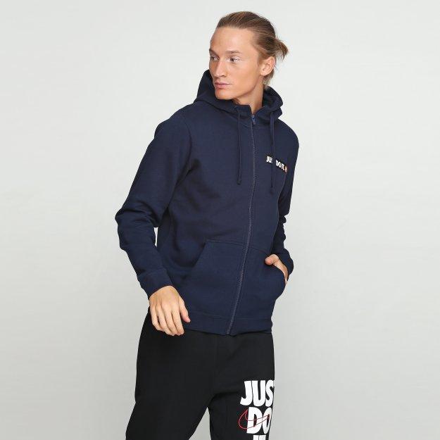 Кофта Nike M Nsw Hbr Hoodie Fz Flc - 112870, фото 1 - интернет-магазин MEGASPORT