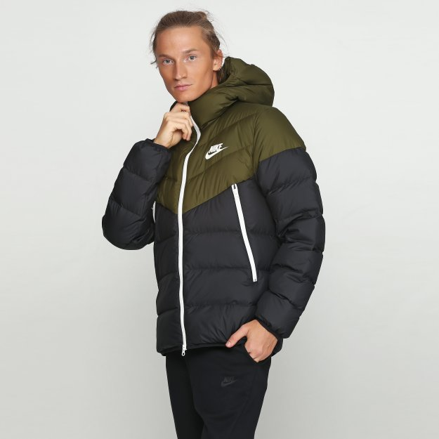 Пуховик Nike M Nsw Dwn Fill Wr Jkt Hd - 112877, фото 1 - интернет-магазин MEGASPORT
