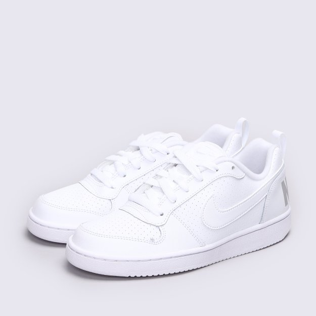 Кеды Nike Boys' Court Borough Low (Gs) Shoe - MEGASPORT