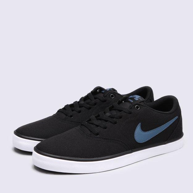 Кеди Nike Men's Nike Sb Check Solarsoft Canvas Skateboarding Shoe - MEGASPORT