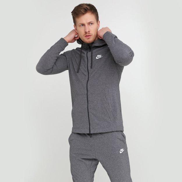 Кофта Nike M NSW CLUB HOODIE FZ JSY - MEGASPORT
