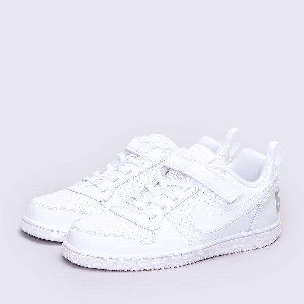 Кеды Nike Boys' Court Borough Low (Psv) Pre-School Shoe - MEGASPORT