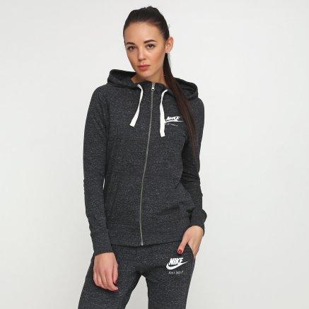 Кофта Nike W Nsw Gym Vntg Hoodie Fz - 108552, фото 1 - інтернет-магазин MEGASPORT
