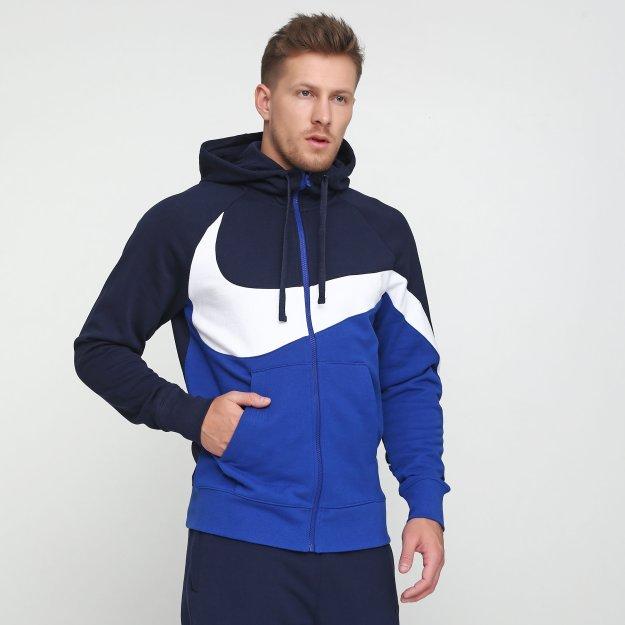 Кофта Nike M Nsw Hbr Hoodie Fz Ft Stmt - MEGASPORT