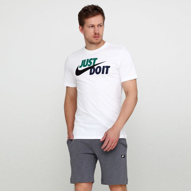 Футболка Nike M Nsw Tee Just Do It Swoosh - MEGASPORT