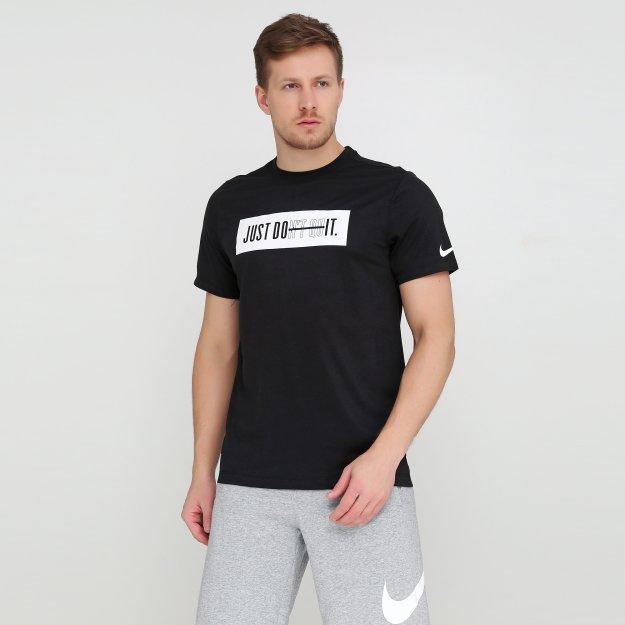 Футболка Nike M NK DRY TEE DB JDQ BAR - MEGASPORT
