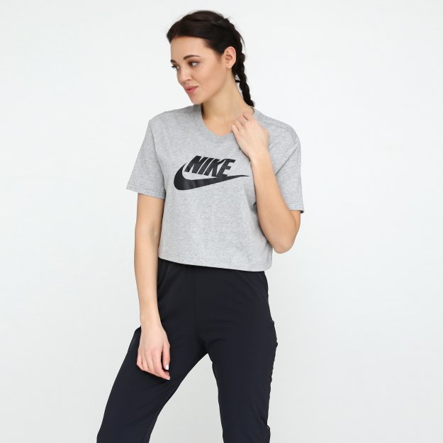 Футболка Nike W Nsw Tee Essntl Crp Icn Ftra - MEGASPORT