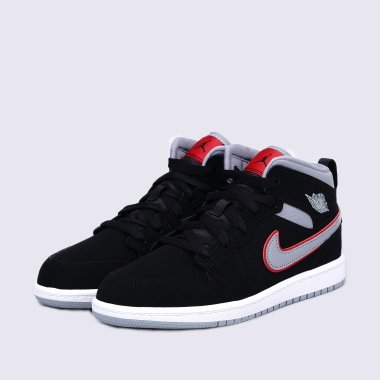 Кеды nike Boys' Jordan 1 Mid (Ps) Pre-School Shoe - 119179, фото 1 - интернет-магазин MEGASPORT