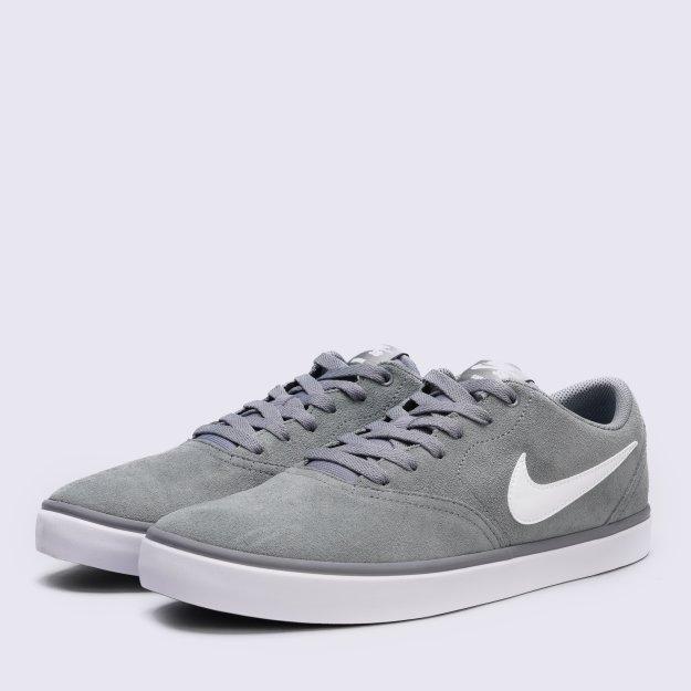 Кеды Nike Men's Sb Check Solarsoft Skateboarding Shoe - MEGASPORT
