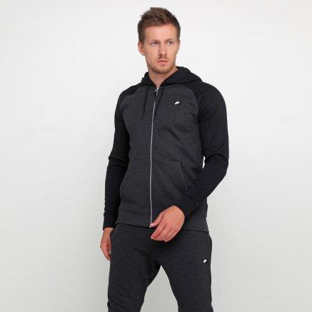 Кофта Nike M Nsw Optic Hoodie Fz - 112855, фото 1 - інтернет-магазин MEGASPORT