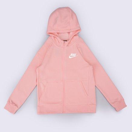 Кофта Nike G Nsw Pe Full Zip - 119283, фото 1 - интернет-магазин MEGASPORT