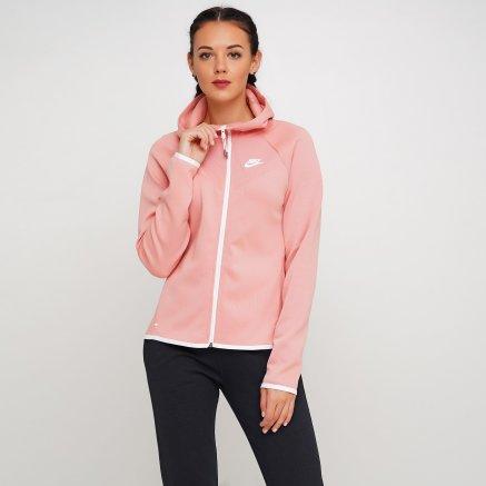 Кофта Nike W Nsw Tch Flc Wr Hoodie Fz - 119303, фото 1 - інтернет-магазин MEGASPORT