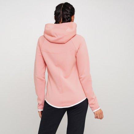 Кофта Nike W Nsw Tch Flc Wr Hoodie Fz - 119303, фото 3 - інтернет-магазин MEGASPORT