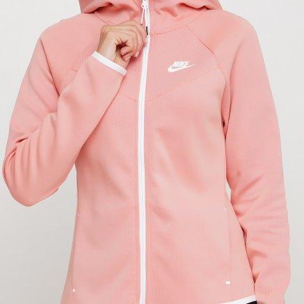 Кофта Nike W Nsw Tch Flc Wr Hoodie Fz - 119303, фото 5 - інтернет-магазин MEGASPORT
