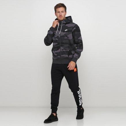 Кофта Nike M Nsw Club Hoodie Fz Bb Camo - 121083, фото 2 - інтернет-магазин MEGASPORT