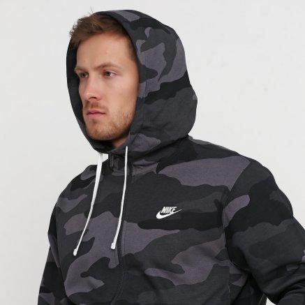 Кофта Nike M Nsw Club Hoodie Fz Bb Camo - 121083, фото 5 - інтернет-магазин MEGASPORT