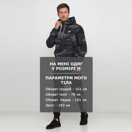 Кофта Nike M Nsw Club Hoodie Fz Bb Camo - 121083, фото 6 - інтернет-магазин MEGASPORT