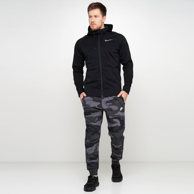 Спортивнi штани Nike M Nsw Club Jggr Bb Camo - 121147, фото 1 - інтернет-магазин MEGASPORT