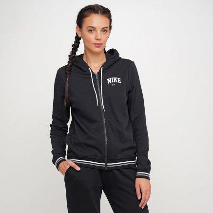 Кофта Nike W Nsw Hoodie Fz Flc Vrsty - 119310, фото 1 - интернет-магазин MEGASPORT