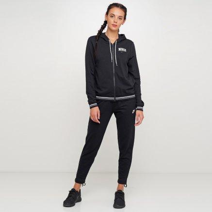 Кофта Nike W Nsw Hoodie Fz Flc Vrsty - 119310, фото 2 - интернет-магазин MEGASPORT