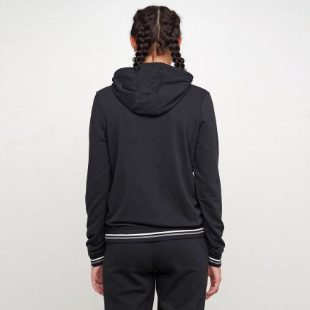 Кофта Nike W Nsw Hoodie Fz Flc Vrsty - 119310, фото 3 - интернет-магазин MEGASPORT