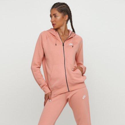 Кофта Nike W Nsw Essntl Hoodie Fz Flc - 118287, фото 1 - интернет-магазин MEGASPORT