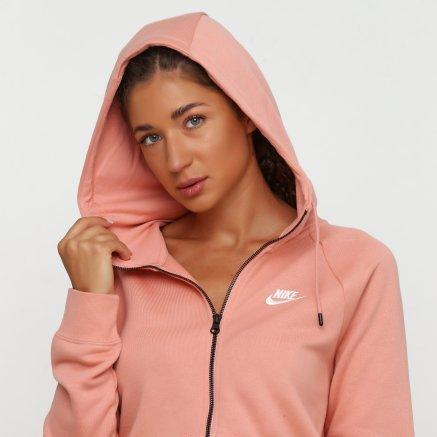 Кофта Nike W Nsw Essntl Hoodie Fz Flc - 118287, фото 4 - интернет-магазин MEGASPORT