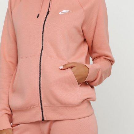 Кофта Nike W Nsw Essntl Hoodie Fz Flc - 118287, фото 5 - интернет-магазин MEGASPORT