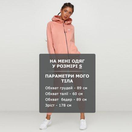 Кофта Nike W Nsw Essntl Hoodie Fz Flc - 118287, фото 6 - интернет-магазин MEGASPORT