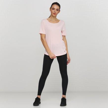 Футболка Nike W Nk Dry Ss Top Elastika - 121152, фото 2 - интернет-магазин MEGASPORT