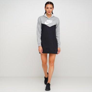 Плаття nike W Nsw Hrtg Hoodie Dress Sb - 119340, фото 1 - інтернет-магазин MEGASPORT