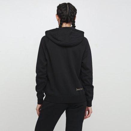 Кофта Nike W Nsw Hoodie Fz Bb Shine - 121087, фото 3 - интернет-магазин MEGASPORT