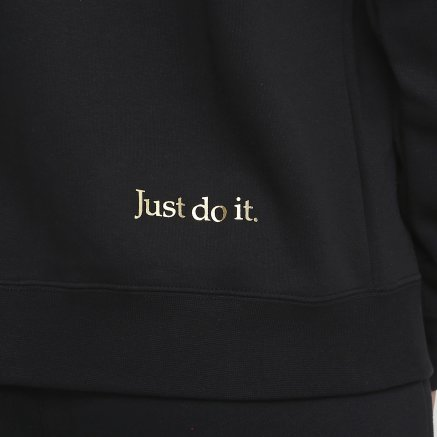 Кофта Nike W Nsw Hoodie Fz Bb Shine - 121087, фото 5 - интернет-магазин MEGASPORT