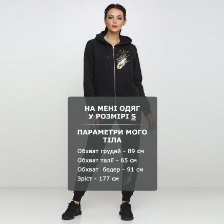 Кофта Nike W Nsw Hoodie Fz Bb Shine - 121087, фото 6 - интернет-магазин MEGASPORT