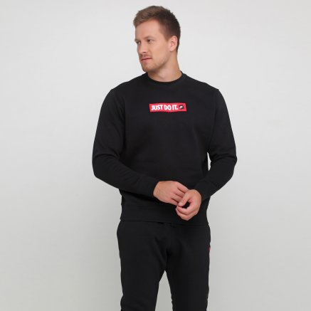 Кофта Nike M Nsw Jdi Crw Flc Bstr - 119101, фото 1 - інтернет-магазин MEGASPORT
