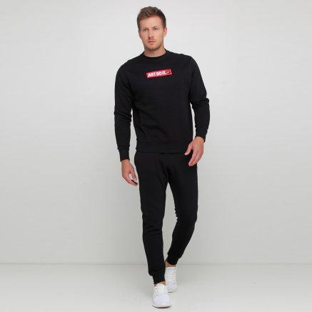 Кофта Nike M Nsw Jdi Crw Flc Bstr - 119101, фото 2 - інтернет-магазин MEGASPORT
