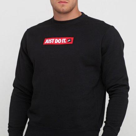 Кофта Nike M Nsw Jdi Crw Flc Bstr - 119101, фото 4 - інтернет-магазин MEGASPORT