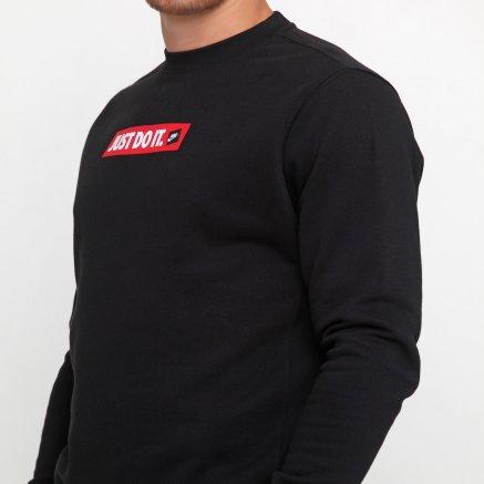 Кофта Nike M Nsw Jdi Crw Flc Bstr - 119101, фото 5 - інтернет-магазин MEGASPORT