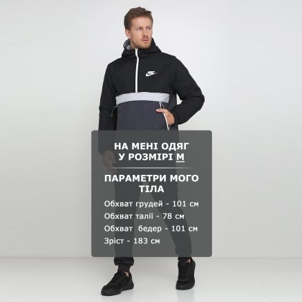 Куртка Nike M Nsw Syn Fill Jkt Hd Hz - 119370, фото 6 - интернет-магазин MEGASPORT