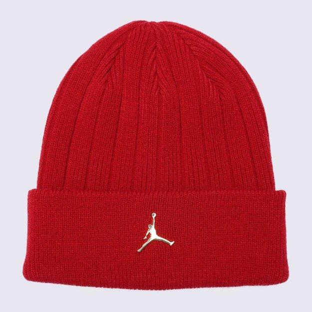Шапка Nike Jordan Beanie Cuffed Ingot - 119431, фото 1 - интернет-магазин MEGASPORT