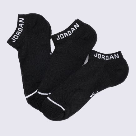 Носки Nike Unisex Jordan Jumpman No-Show Socks (3 Pair) - 119150, фото 1 - интернет-магазин MEGASPORT