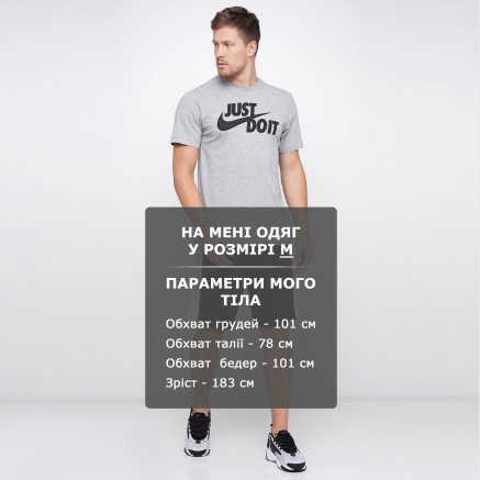 Футболка Nike M Nsw Tee Just Do It Swoosh - 114823, фото 11 - интернет-магазин MEGASPORT