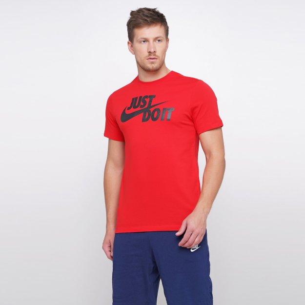 Футболка Nike M Nsw Tee Just Do It Swoosh - MEGASPORT