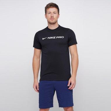 Футболки nike M Nk Dry Tee Nike Pro - 121991, фото 1 - інтернет-магазин MEGASPORT